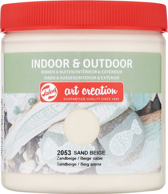 Talens Art Creation indoor & outdoor verf 250ml - Zandbeige