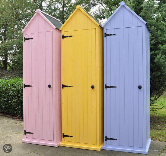 bol.com : Leco Tuinhuisje Tuinhuis gekleurd geel