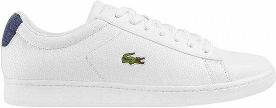 sports shoes 85006 c9d9f Lacoste Carnaby EVO wit sneakers heren