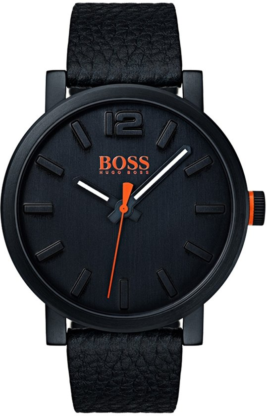 Hugo Boss Orange HO1550038 horloge heren - zwart - edelstaal PVD zwart
