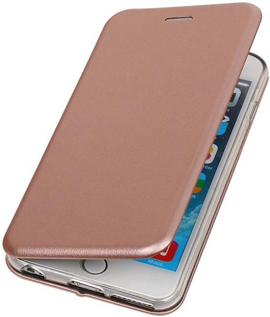 BestCases.nl Apple iPhone 6 / 6s Plus Folio leder look booktype hoesje Roze in Roelofarendsveen