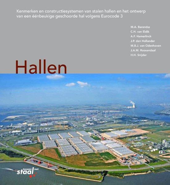 Boek cover Hallen van M.A. Barendsz (Hardcover)