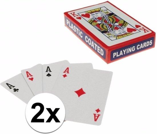Afbeelding van het spel Speelkaarten setjes 2 stuks