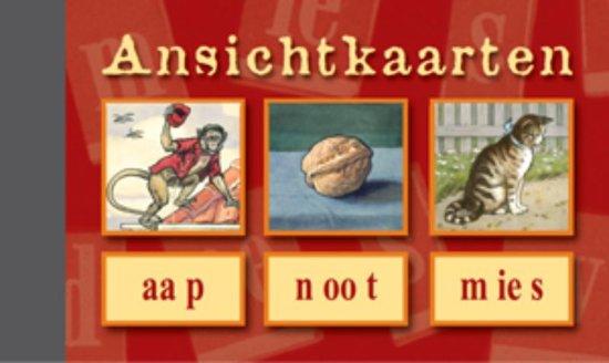 Ansichtkaarten, Aap - Noot - Mies