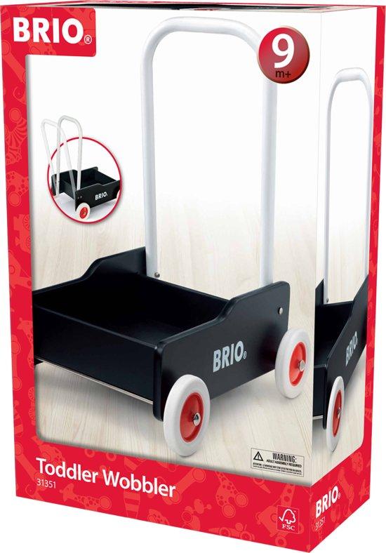 Afbeelding van BRIO Zwarte loopwagen - 31351 speelgoed