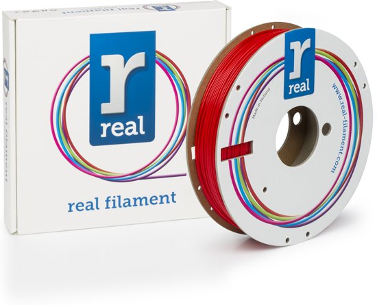 REAL Filament PETG rood 1.75mm (500g)