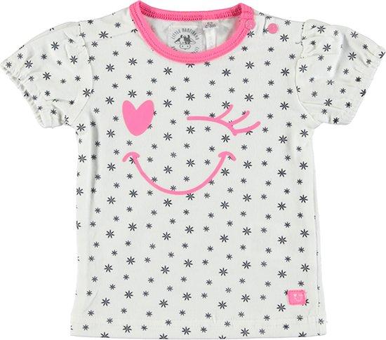 Bampidano Meisjes T-shirt - navy allover - Maat 68