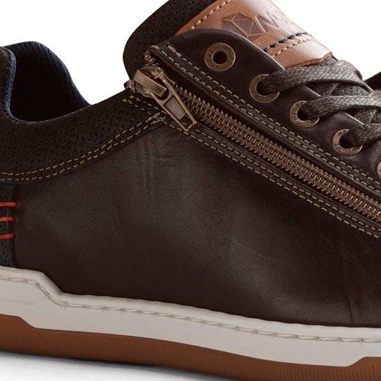 Sneakers Donkerbruin Maat 41 Nogrz C maderno Heren Leren wnvvqRIp