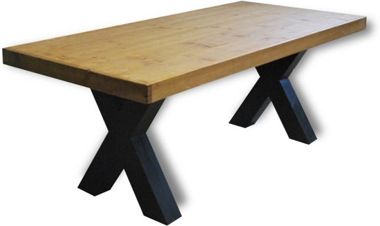 2 Persoons Tafel : Bol tafel zane persoons eettafel bruin zwart