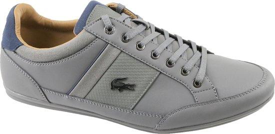 5 118 Mannen Chaymon Lacoste Maat Grijs Eu 1 46 Cam0011g1n81 Sneakers AxPw7zR