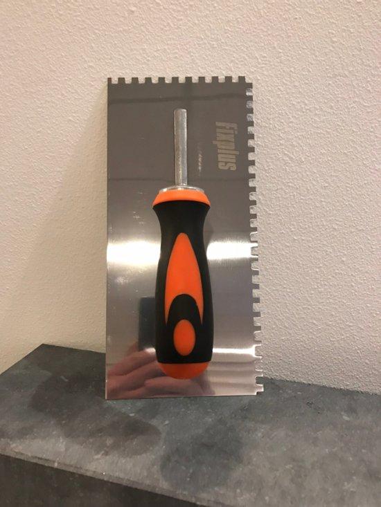 Lijmkam 6 mm met softgrip