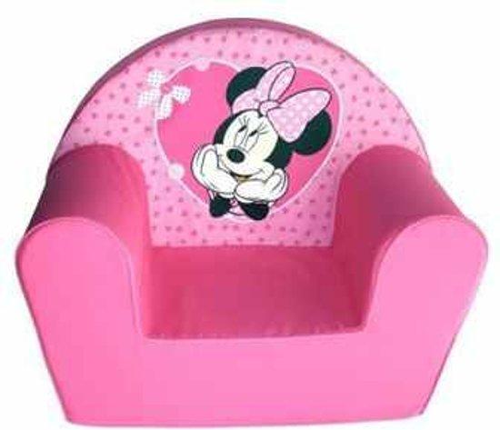 Minnie Mouse Stoel.Disney Minnie Mouse Little Hearts Kindersofa