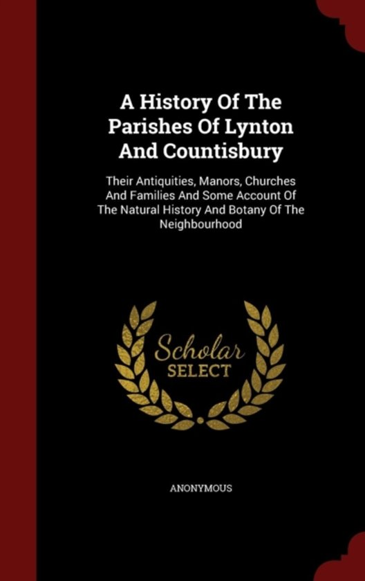 A History of the Parishes of Lynton and Countisbury