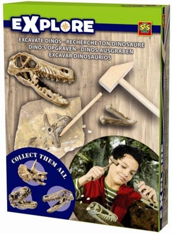 ses/ses exploreOpgravingset SES: Velociraptor