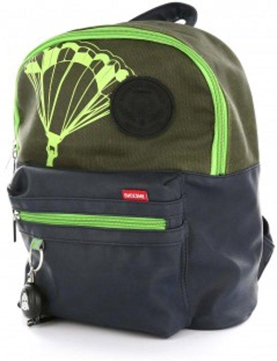 f5417ec77c9 bol.com | Shoesme kinder rugzak parachute blauw groen