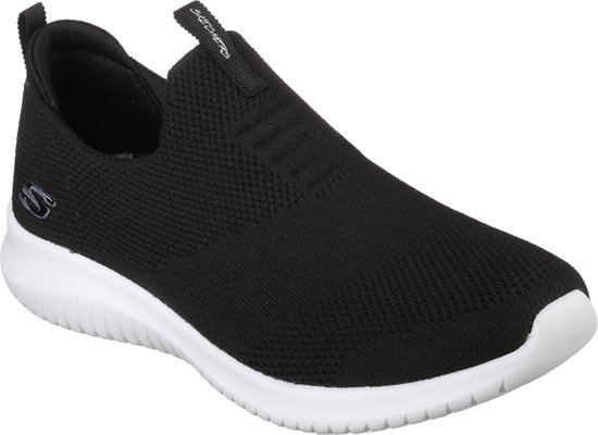7ce8c01c450 Skechers Ultra Flex-First Take Sneakers Dames - Black White - Maat 39