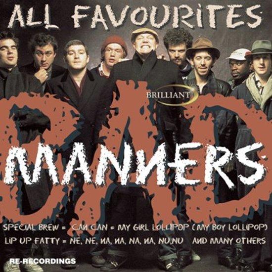 CD cover van All Favourites van Bad Manners