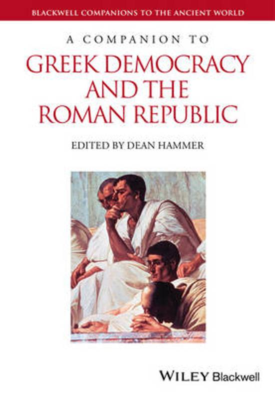 a comparison of ancient greek democracy and roman republic 8 striking parallels between the us and the roman empire it tells the story of ancient rome similar to the late roman republic.