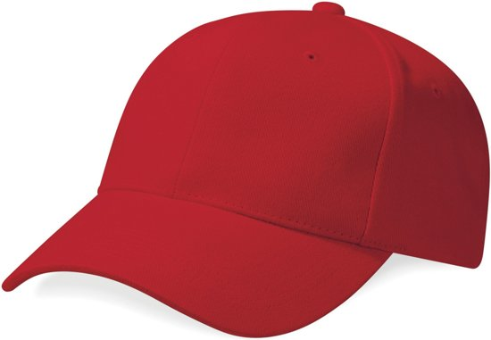 f47bb5bb4a7 Beechfield Pro-Style Heavy Brushed Cotton Cap Rood