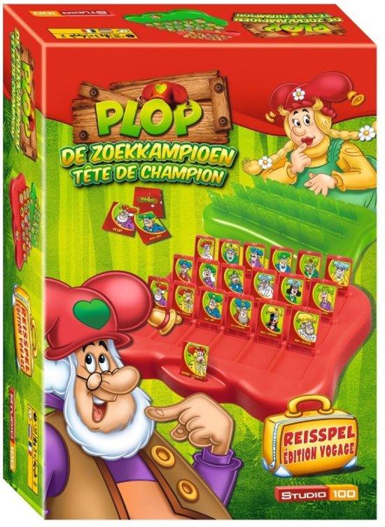 Kabouter Plop Reisspel Zoekkampioen - Kinderspel