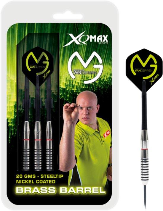 Michael van Gerwen - nickel coated - dartsset - 20 grams - dartpijlen