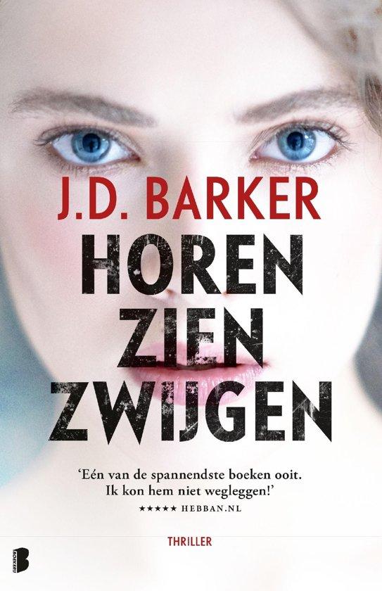 Boek cover Sam Porter 1 - Horen, zien, zwijgen van J.D. Barker (Onbekend)