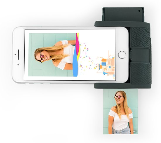 Prynt Pocket Foto printer iPhone - Donkergrijs