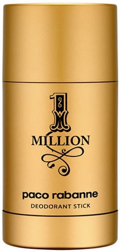 MULTI BUNDEL 2 stuks Paco Rabanne One Million Deodorant Stick 75ml