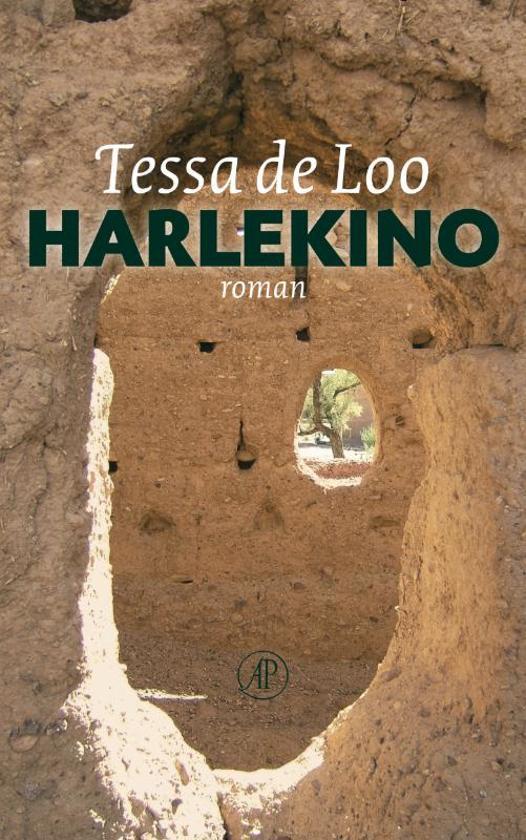 Cover van het boek 'Harlekino, of Het boek van de twijfel' van Tessa de Loo