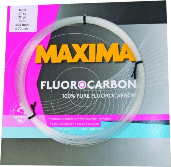Maxima Fluocarbon 80 lb - Onderlijnmateriaal - 0.87 mm - 36 kg - 25 m