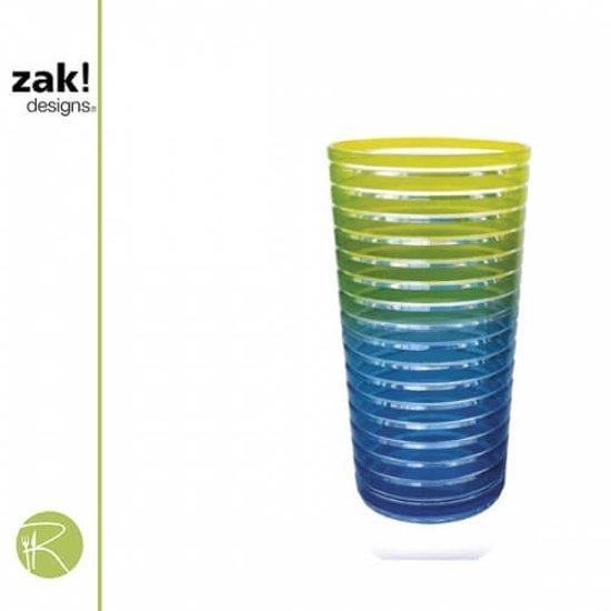 ZaK!Designs Swirl Drinkbeker - 36 cl. - Assorti