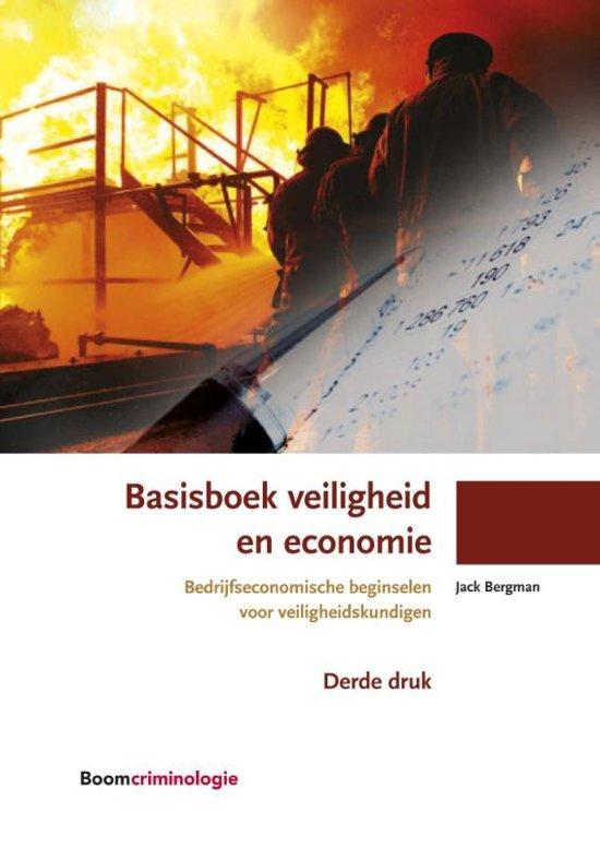 Boom studieboeken criminologie - Basisboek veiligheid en economie
