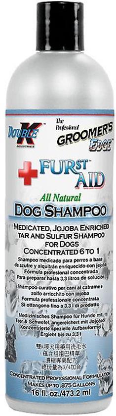 Double K Furst Aid shampoo, medicinaal 473ml
