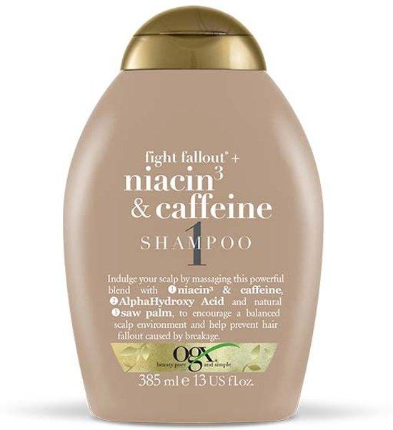 niacin 3 and caffeine shampoo