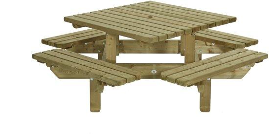 Picknicktafel vierkant 195x195