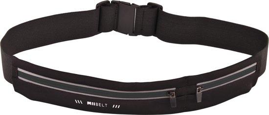 MIIEGO Running Belt - Hardloopriem - Miibelt Zwart