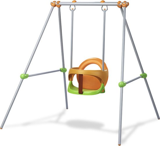 Baby Schommel Tuin.Bol Com Smoby Maxi Nature 120 Cm Babyschommel