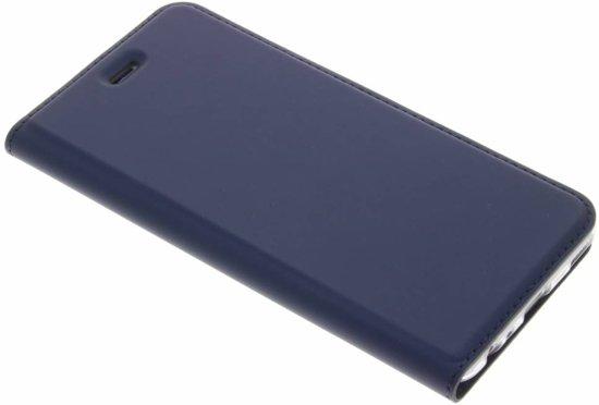 Bleu Housse Portefeuille Mince Pour Huawei P10 ApnPFqT