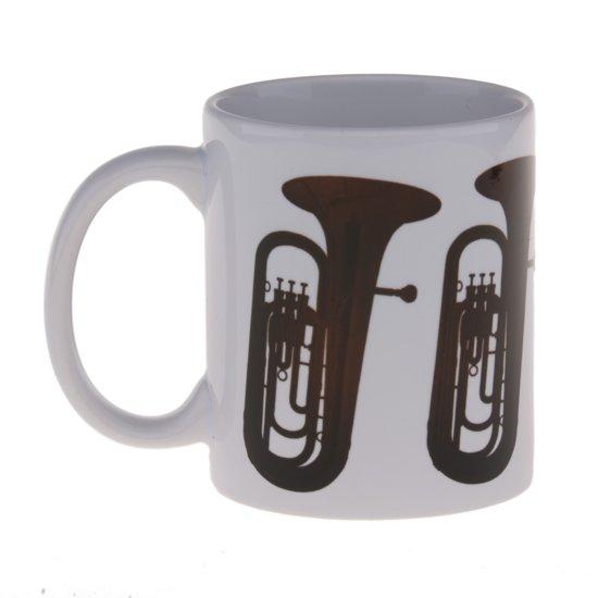 Mok (300 ml) met (bas)tuba