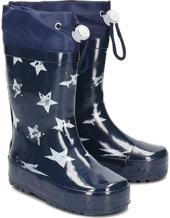 Palyshoes Rubber Boots Stars navy 22/23