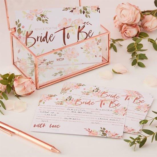 Advieskaarten Bride to Be