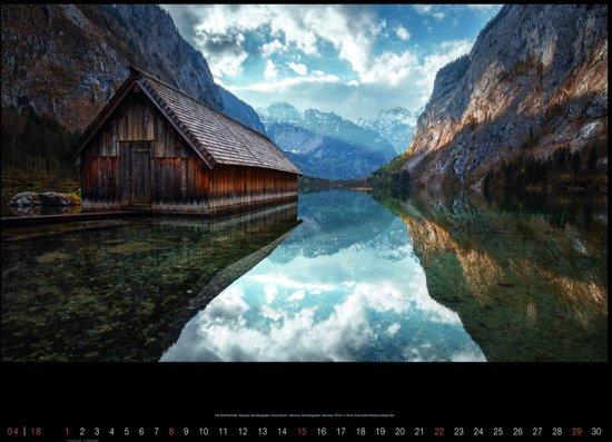 Landschappen Landscapes Gürel Sahin Posterkalender 2018
