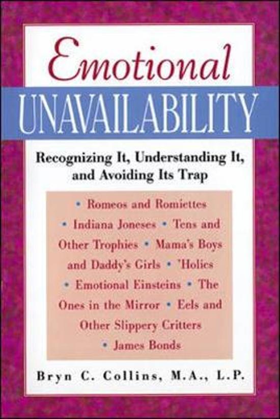 Emotional Unavailability