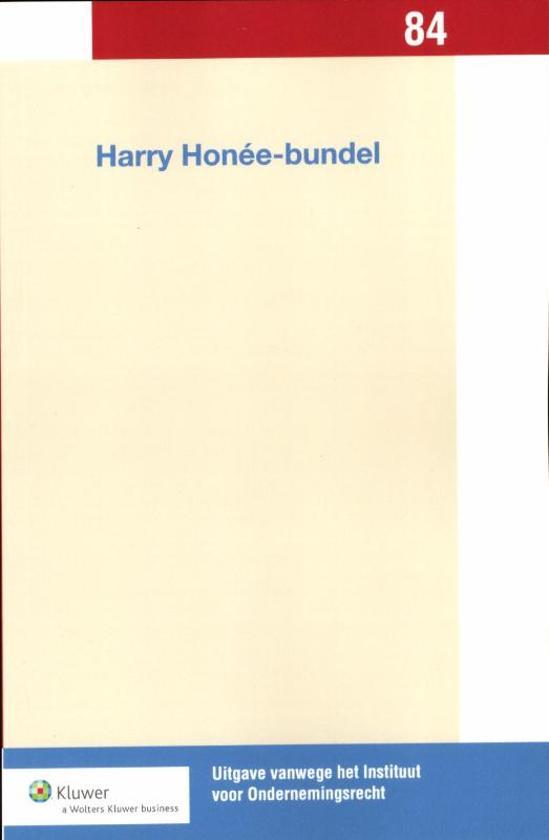 Cover van het boek 'Harry Hon, e-bundel / druk 1' van Harry Honée
