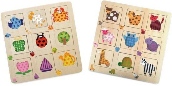 Small Foot - Knopjespuzzel - Jongens en meisjes - Multicolor