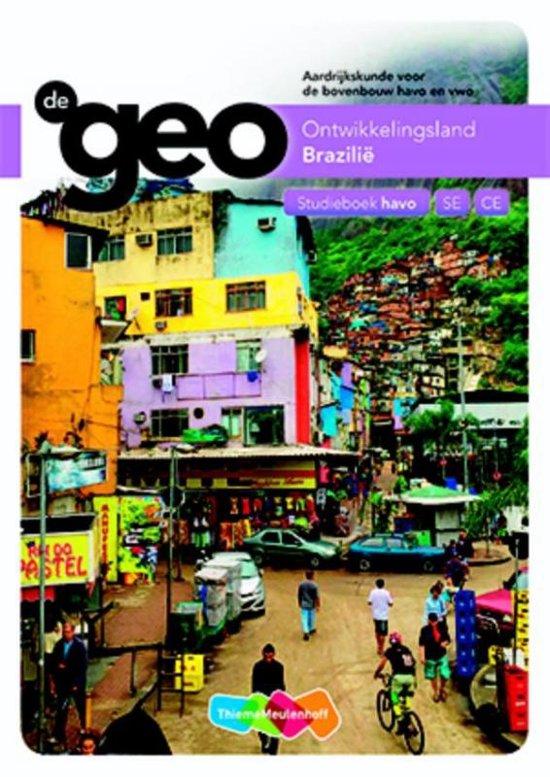De Geo Ontwikkelingsland Brazilië havo SE CE Studieboek