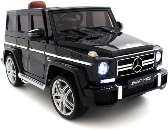mercedes kinderauto g klasse 63 amg zwart. Black Bedroom Furniture Sets. Home Design Ideas