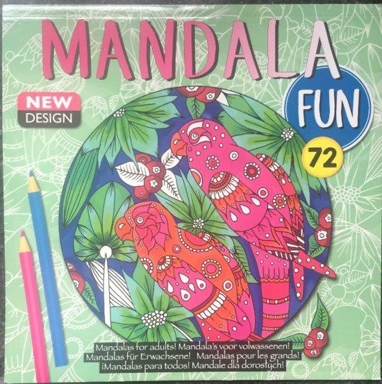 Kleurboek volwassenen / mandala fun / new design /  groen