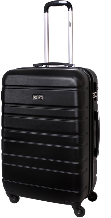 Karry Horizontal Reiskoffer 80L - 71 cm - Zwart