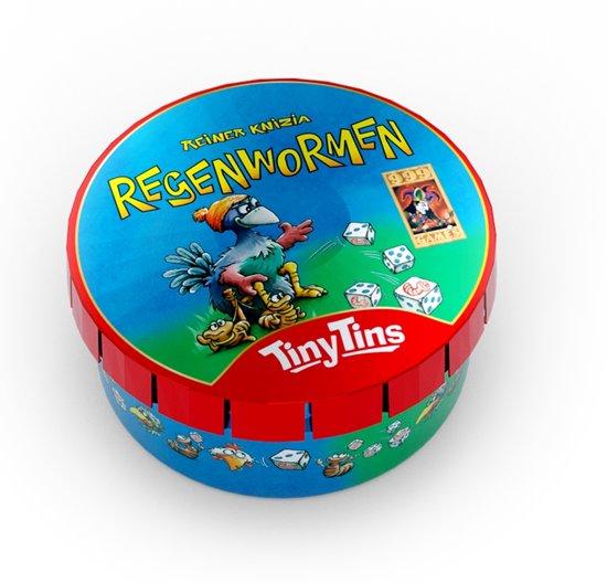 Afbeelding van het spel Tiny Tins: Regenwormen (los) Dobbelspel
